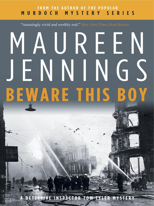 Title details for Beware This Boy by Maureen Jennings - Available