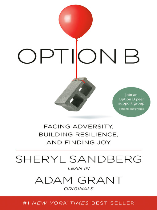 Title details for Option B by Sheryl Sandberg - Wait list
