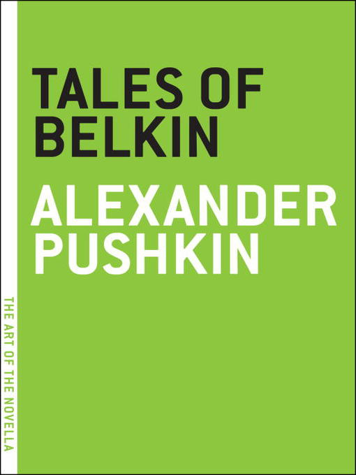 Title details for Tales of Belkin by Alexander Pushkin - Available