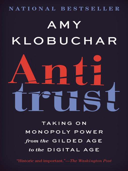 Title details for Antitrust by Amy Klobuchar - Wait list