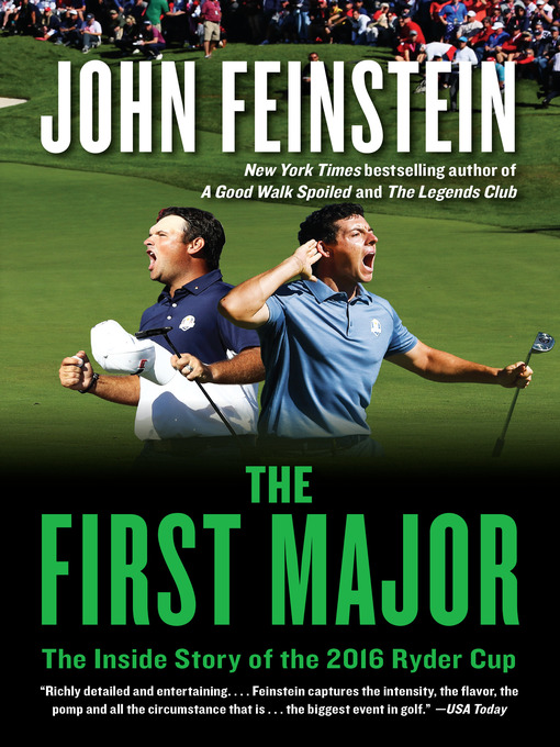 Title details for The First Major by John Feinstein - Available