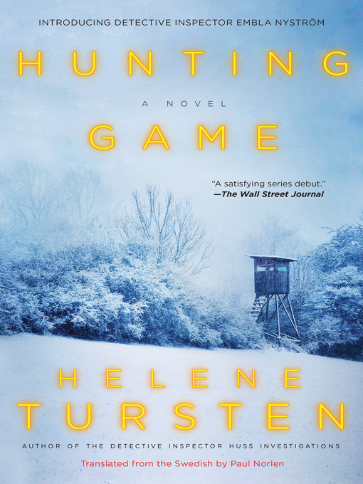 Title details for Hunting Game by Helene Tursten - Wait list