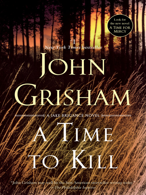 Cover of A Time to Kill