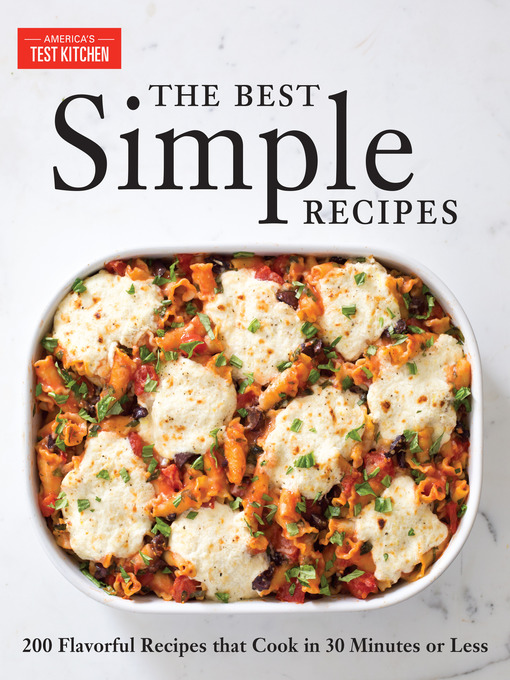 Title details for The Best Simple Recipes by America's Test Kitchen - Wait list