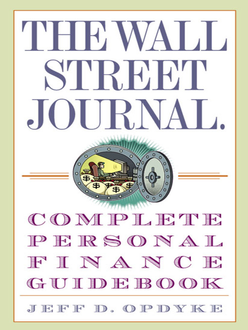 the wall street journal complete personal finance guidebook pdf