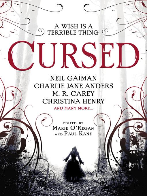 Title details for Cursed by Marie O'Regan - Wait list