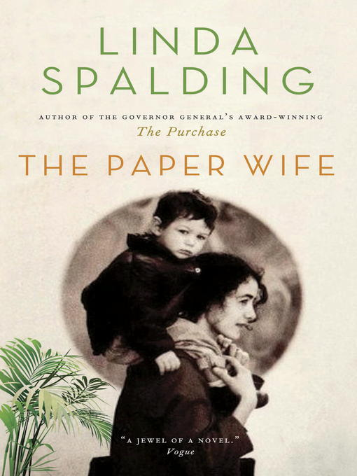 Title details for The Paper Wife by Linda Spalding - Wait list