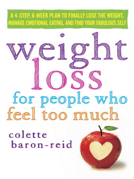 Cover of Weight Loss for People Who Feel Too Much