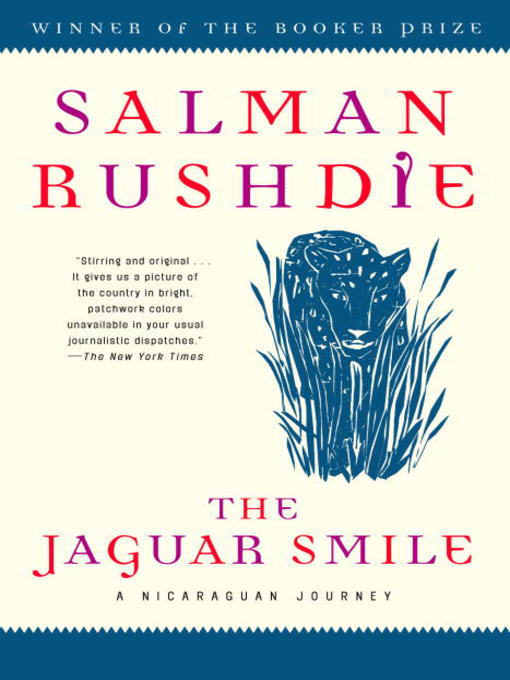 Cover image for The Jaguar Smile