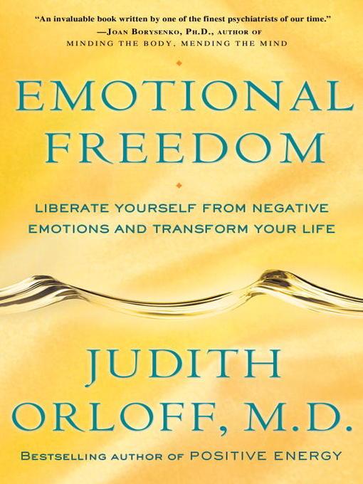 Title details for Emotional Freedom by Judith Orloff - Wait list