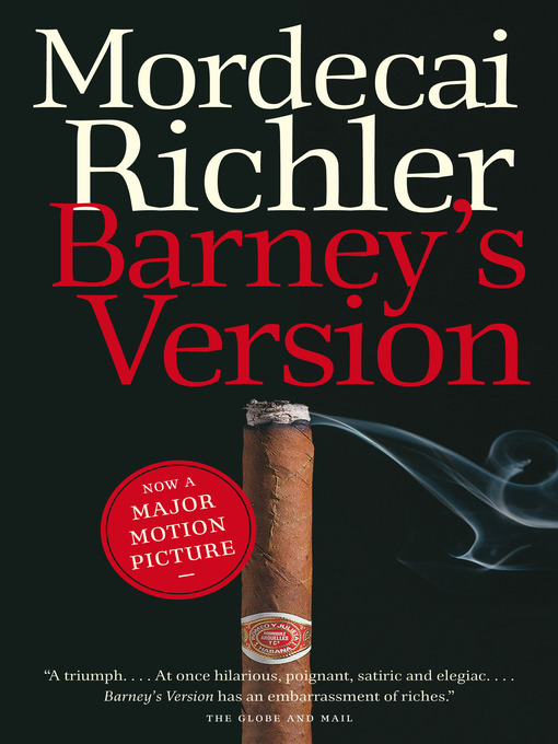Title details for Barney's Version by Mordecai Richler - Available