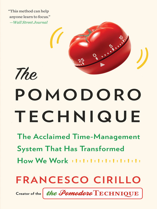 Title details for The Pomodoro Technique by Francesco Cirillo - Available
