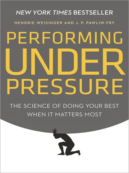 Cover of Performing Under Pressure