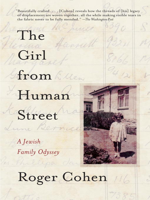 Title details for The Girl from Human Street by Roger Cohen - Available