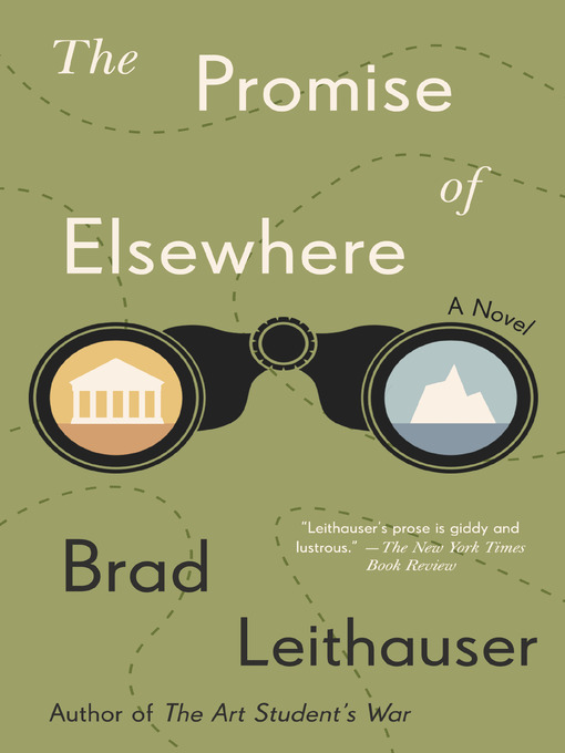 Title details for The Promise of Elsewhere by Brad Leithauser - Available