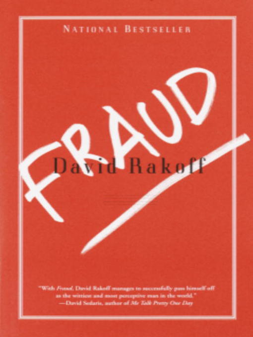 Title details for Fraud by David Rakoff - Available