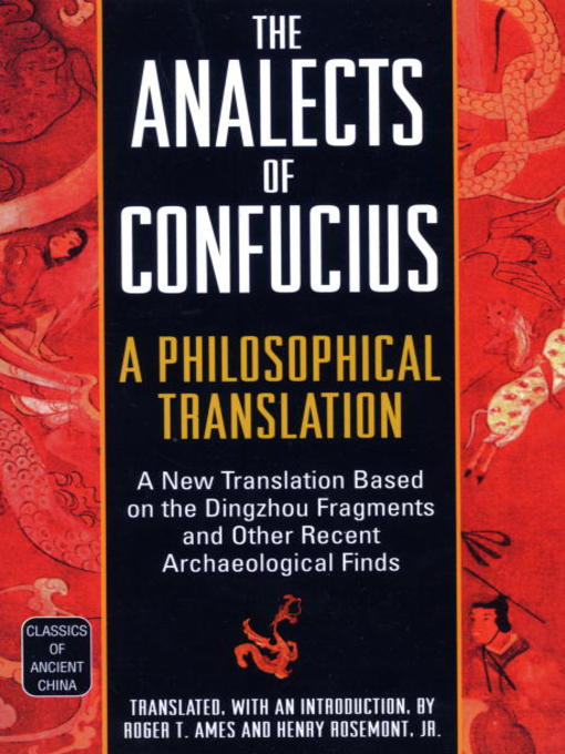 analects of confucius analects of