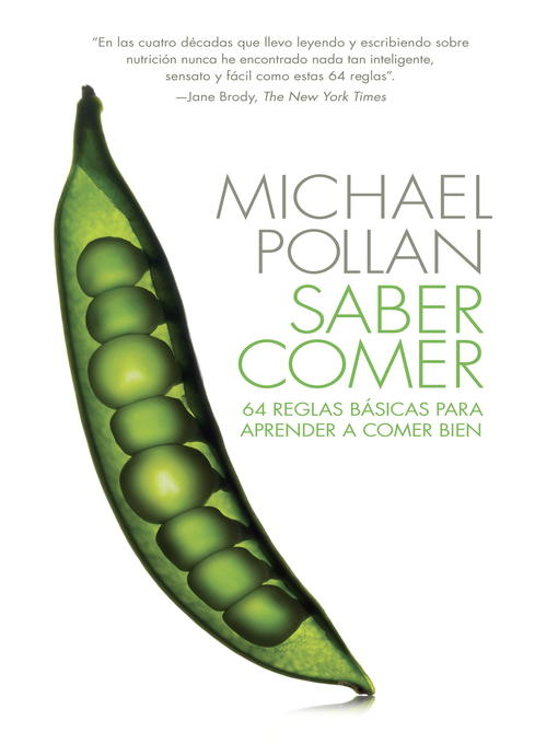 Title details for Saber comer by Michael Pollan - Available