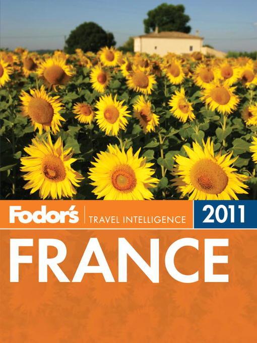Title details for Fodor's France 2011 by Fodor's - Wait list