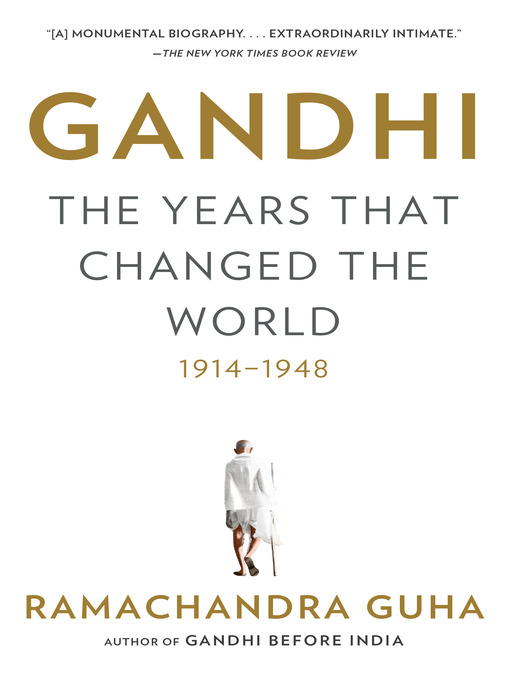Title details for Gandhi by Ramachandra Guha - Available