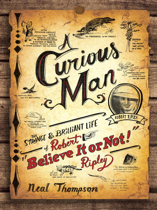 Cover of A Curious Man