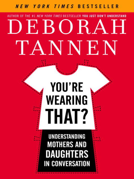 the facts about men and women in deborah tannens book you dont understand She is the author of 15 books, including you just don't understand: women and men in conversation (william morrow, 1990), which introduced to the general public the idea of female and male.