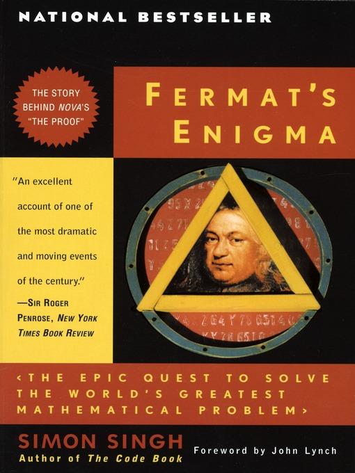 the complex equations in fermats enigma a book by simon singh T h breen argues that boyer and nissenbaum 威士忌,葡萄酒,香檳,氣泡酒,高粱,基酒,啤酒,年節禮盒.