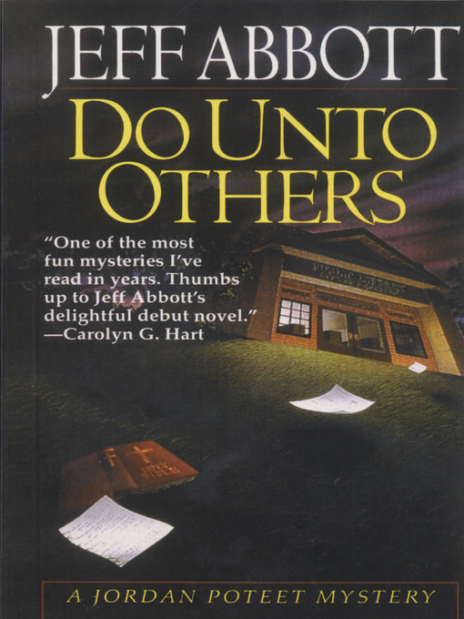 Title details for Do Unto Others by Jeff Abbott - Available