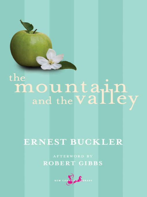 a summary of the prologue of the mountain and the valley by ernest buckler Ernest buckler booklist ernest buckler message board detailed plot synopsis reviews of the mountain and the valley this book tells the story of david canaan, a school boy growing up in the annapolis valley in atlantic canada in the years before world war 2.