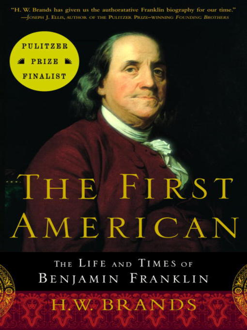 Title details for The First American by H.W. Brands - Available