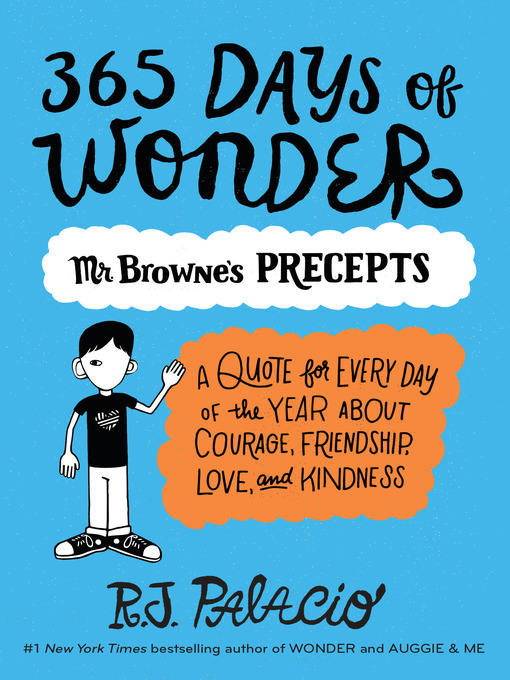Title details for 365 Days of Wonder by R. J. Palacio - Wait list