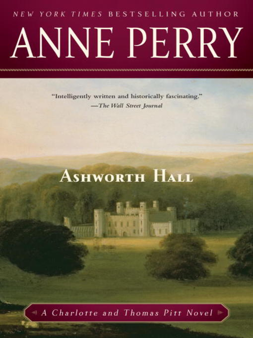 Title details for Ashworth Hall by Anne Perry - Available