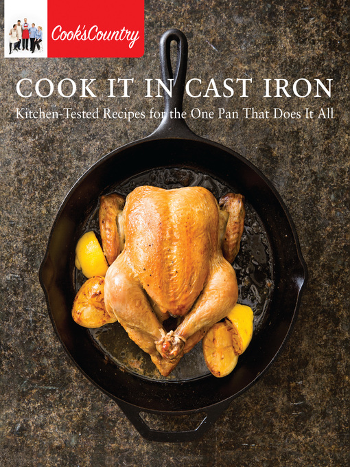 Title details for Cook It in Cast Iron by Cook's Country - Available