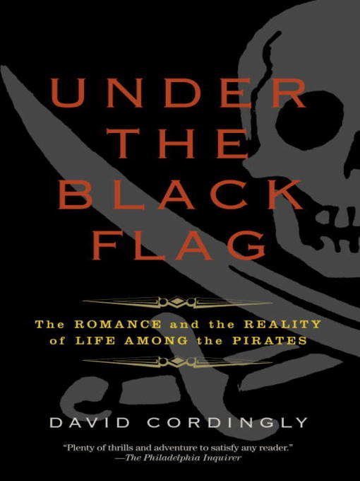 Title details for Under the Black Flag by David Cordingly - Available