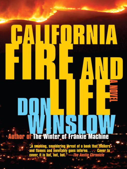Title details for California Fire and Life by Don Winslow - Available