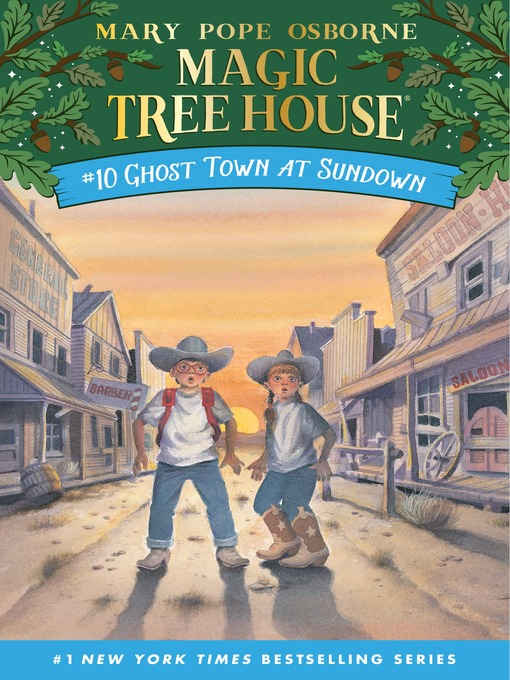 Title details for Ghost Town at Sundown by Mary Pope Osborne - Available