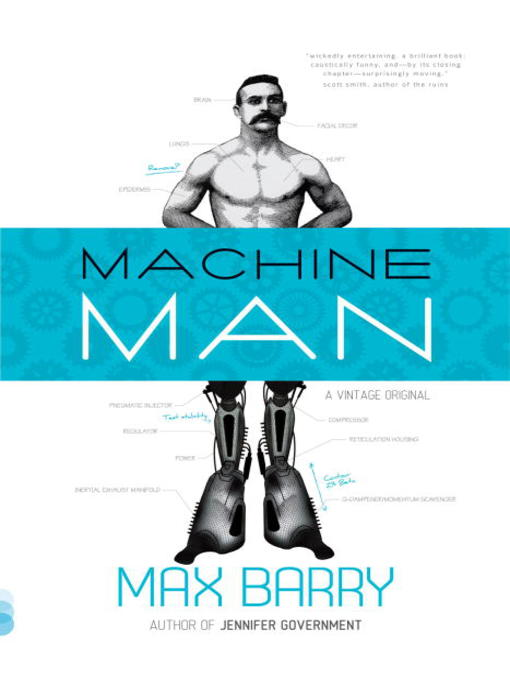 Title details for Machine Man by Max Barry - Available