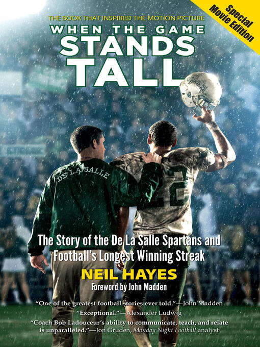Cover image for When the Game Stands Tall, Special Movie Edition