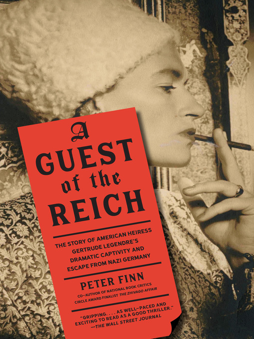 Title details for A Guest of the Reich by Peter Finn - Available