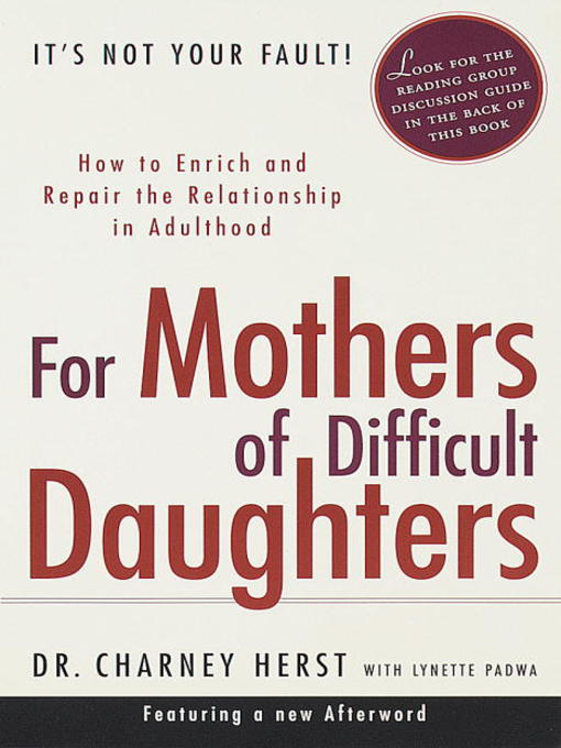 an examination of mother daughter relationships in literature Styles in the father/daughter relationships and the communication satisfaction and adaptability introduction a great deal of research has been conducted to find.