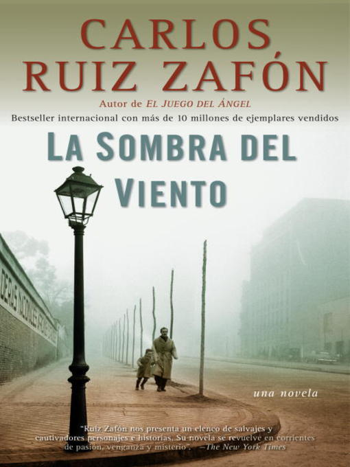 Title details for La Sombra del Viento by Carlos Ruiz Zafon - Wait list