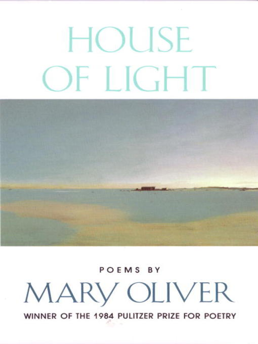 mary oliver nature poems
