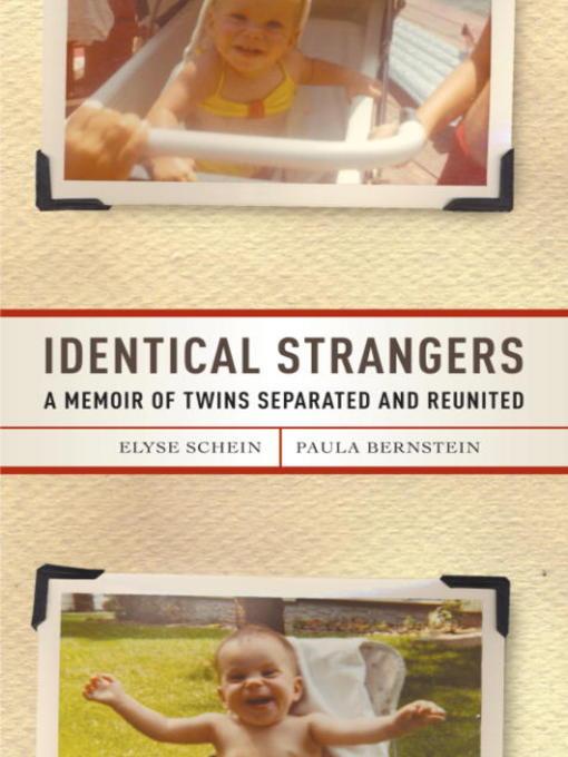 Title details for Identical Strangers by Elyse Schein - Wait list