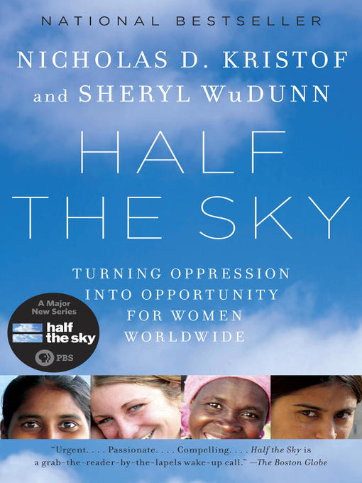 Title details for Half the Sky by Nicholas D. Kristof - Wait list