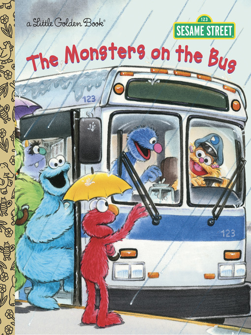 The Monsters on the Bus (Sesame Street) の表紙