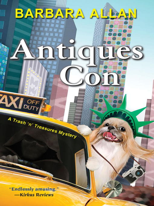 Title details for Antiques Con by Barbara Allan - Available