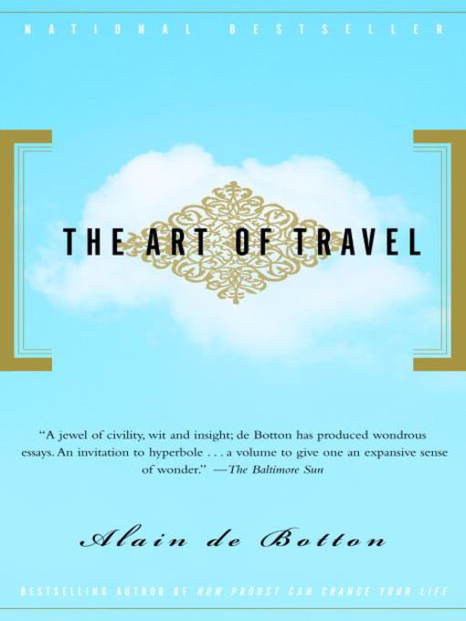 Title details for The Art of Travel by Alain de Botton - Wait list