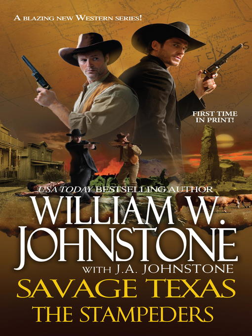 Title details for The Stampeders by William W. Johnstone - Available