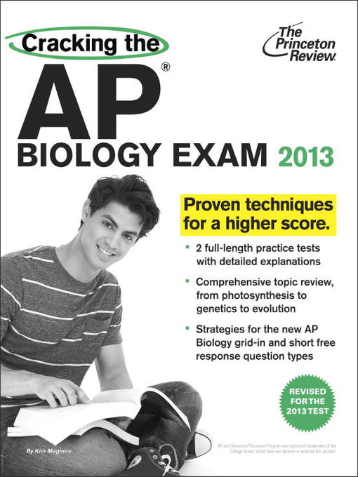 Title details for Cracking the AP Biology Exam by Princeton Review - Available