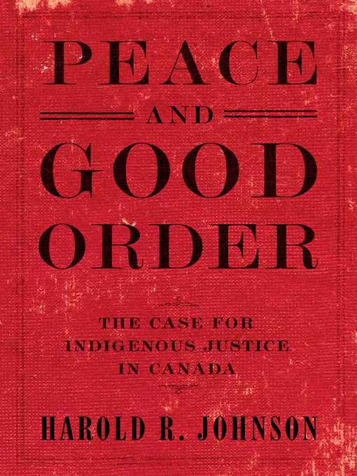 Title details for Peace and Good Order by Harold R. Johnson - Available